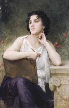 William Adolphe Bouguereau Painting - Inspiration Realism William Adolphe Bouguereau