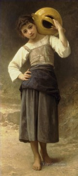 Bouguereau Art Painting - Jeune fille allant a la fontaine Realism William Adolphe Bouguereau