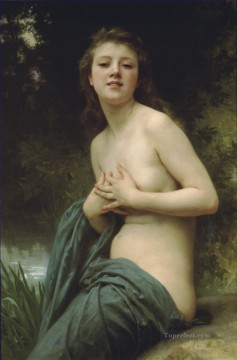 La brie du printemps Realism William Adolphe Bouguereau Oil Paintings