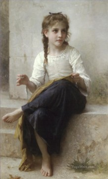 La couturiere Realism William Adolphe Bouguereau Oil Paintings