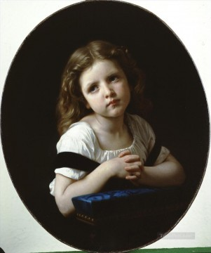 William Adolphe Bouguereau Painting - La priere Realism William Adolphe Bouguereau