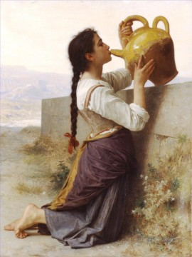 La soif Realism William Adolphe Bouguereau Oil Paintings