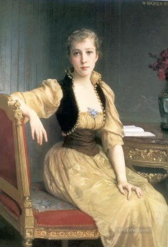 Lady Maxwell 1890 Realism William Adolphe Bouguereau Oil Paintings