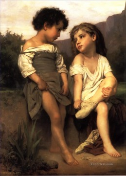 Les Jeunes Baigneuses Realism William Adolphe Bouguereau Oil Paintings