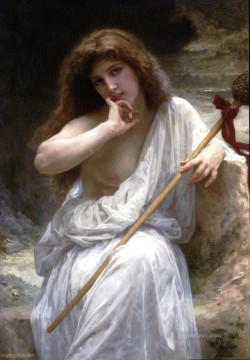 William Adolphe Bouguereau Painting - Mailice Realism William Adolphe Bouguereau