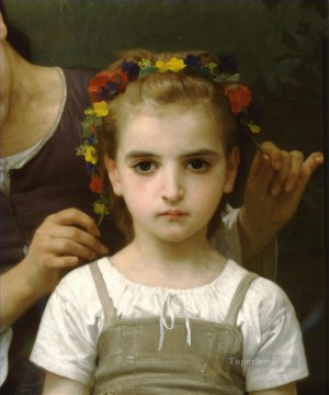 Parure des champs right Realism William Adolphe Bouguereau Oil Paintings