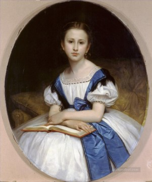 Portrait de Mlle Brissac Realism William Adolphe Bouguereau Oil Paintings