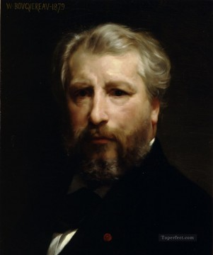 Portrait de lartiste Realism William Adolphe Bouguereau Oil Paintings