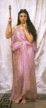 William Adolphe Bouguereau Painting - Priestess Realism William Adolphe Bouguereau