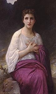 Psyche Realism William Adolphe Bouguereau Oil Paintings