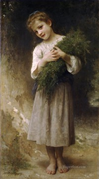Retour des champs Realism William Adolphe Bouguereau Oil Paintings