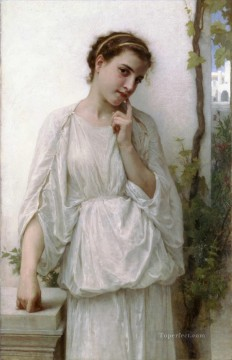 Reverie Realism William Adolphe Bouguereau Oil Paintings