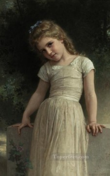 The Mischievous One Realism William Adolphe Bouguereau Oil Paintings