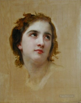 Unfinished Realism William Adolphe Bouguereau Oil Paintings
