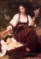 Berceuse Realism William Adolphe Bouguereau