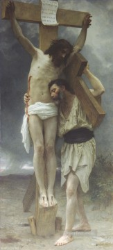 Compassion Realism William Adolphe Bouguereau Oil Paintings