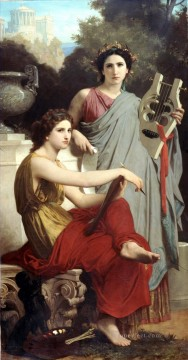 Lart et la litterature Realism William Adolphe Bouguereau Oil Paintings