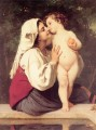 Le Baiser 1863 Realism William Adolphe Bouguereau