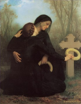Le jour des morts Realism William Adolphe Bouguereau Oil Paintings