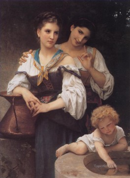Le secret Realism William Adolphe Bouguereau Oil Paintings