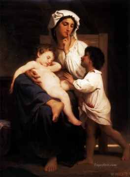 Slumber Realism William Adolphe Bouguereau Oil Paintings