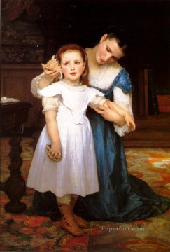 The Shell Realism William Adolphe Bouguereau Oil Paintings