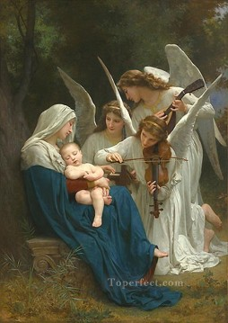 Angels Works - Song of the Angels Realism angel William Adolphe Bouguereau