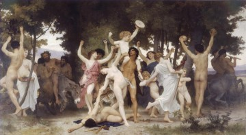William Adolphe Bouguereau Painting - La jeunesse de Bacchus William Adolphe Bouguereau