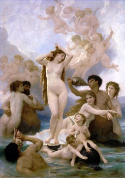 William Adolphe Bouguereau Painting - Naissance de Venus William Adolphe Bouguereau