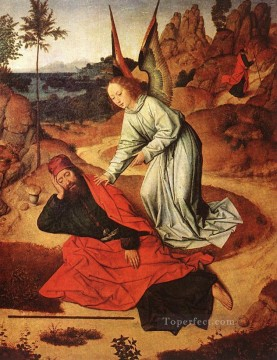 Prophet Elijah In The Desert Netherlandish Dirk Bouts Oil Paintings