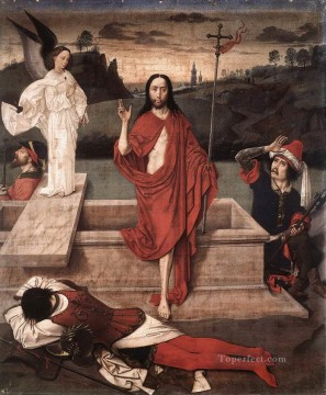 resurrection - Resurrection Netherlandish Dirk Bouts