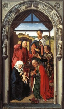Adoration Art - Adoration Of The Magi Netherlandish Dirk Bouts