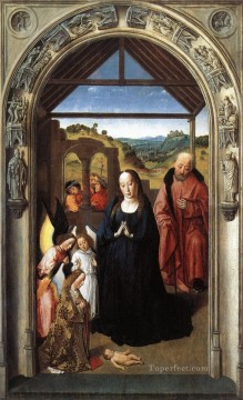 Nativity Art - Nativity Netherlandish Dirk Bouts