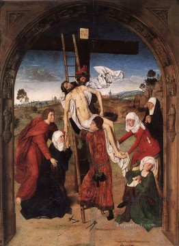 Altarpiece Painting - Passion Altarpiece Central Netherlandish Dirk Bouts