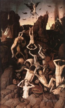 Hell Netherlandish Dirk Bouts Oil Paintings