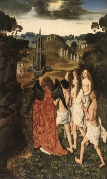 Paradise Netherlandish Dirk Bouts Oil Paintings