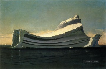 Seascape Canvas - Iceberg seascape William Bradford