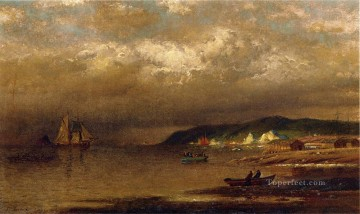new orleans Painting - Coast of Newfoundland William Bradford