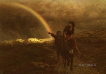 on - LArcEnCiel countryside Realist Jules Breton