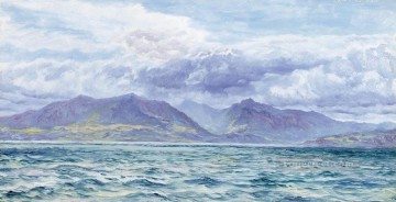 Arran seascape Brett John Oil Paintings