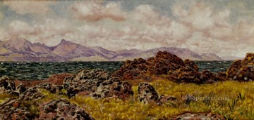 Farland Rocks landscape Brett John Oil Paintings