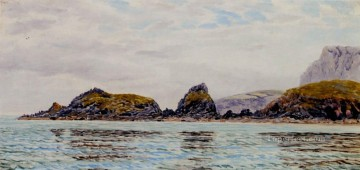 Monkstone seascape Brett John Oil Paintings