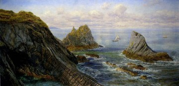 Edward A Coastal Landscape landscape Brett John Oil Paintings