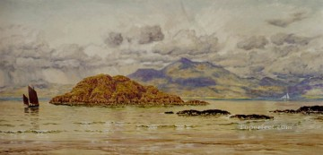 Maiden Island seascape Brett John Oil Paintings