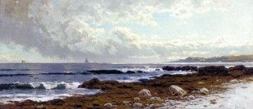 Coast Painting - Along the Coast beachside Alfred Thompson Bricher