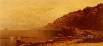 Coast Painting - Coast Of Maine beachside Alfred Thompson Bricher