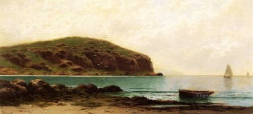 Coast Painting - Coastal View beachside Alfred Thompson Bricher