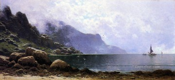 Alfred Thompson Bricher Painting - Mist Clearing Grand Manan beachside Alfred Thompson Bricher