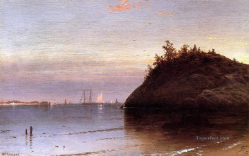 Alfred Thompson Bricher Painting - Narragansett Bay beachside Alfred Thompson Bricher