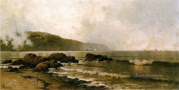 Coast Painting - The Coast at Grand Manan Alfred Thompson Bricher